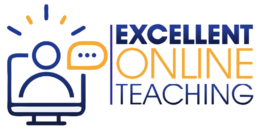 excellent online teaching logo
